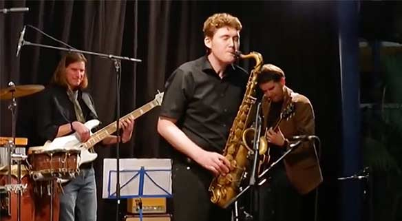 Stefan Tiefenbacher und Band
